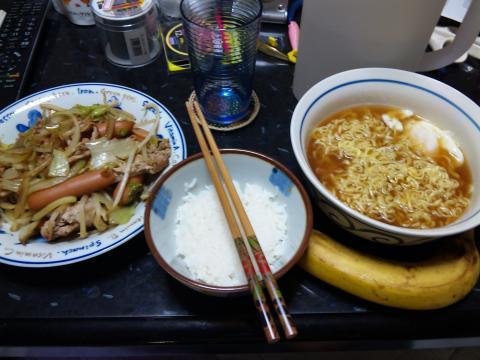 野菜炒めセット前