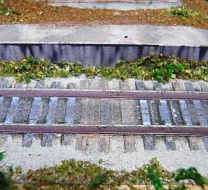 軽便鉄道停留所ペーパークラフトジオラマ短縮版06