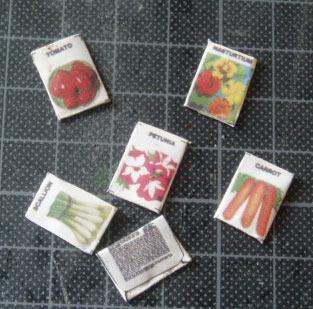 花と野菜の種袋