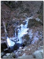 凍った滝-3-