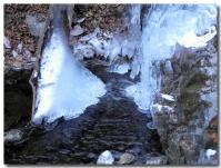凍った滝-4-