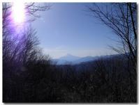大沢山から富士山-1-