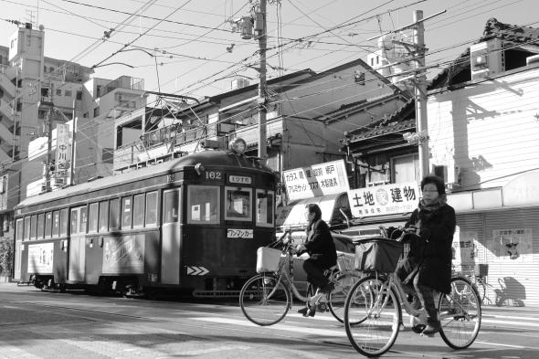 2013/12/23 阪堺電軌阪堺線 住吉鳥居前