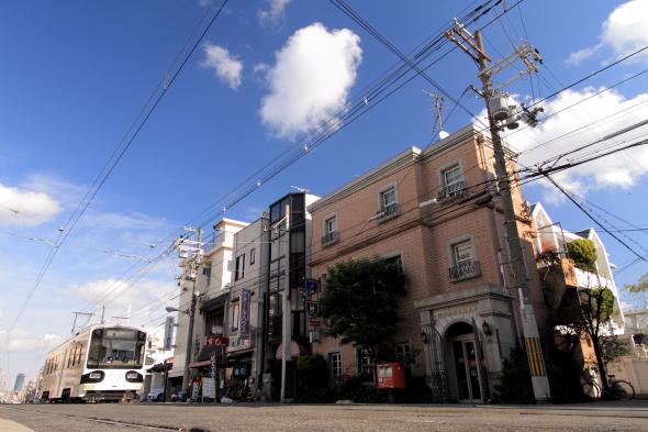 2013/12/28 阪堺電軌上町線 帝塚山3丁目