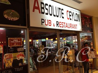 ABSOLUTE CEYLON PUB&RESTAURANT .