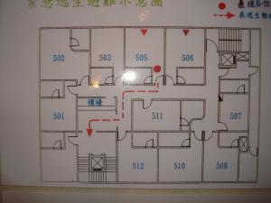 ホテル平面図