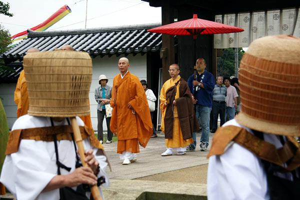 大安寺 竹供養(2008年)4