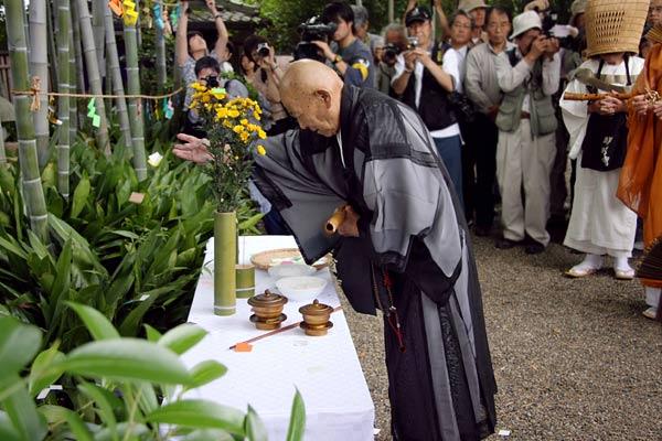 大安寺 竹供養(2008年)7