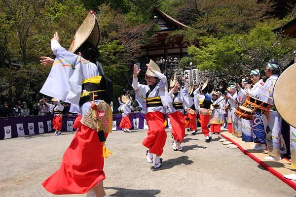 談山神社 阿波踊り5