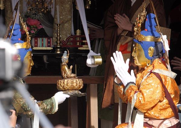 當麻寺 練供養会式2