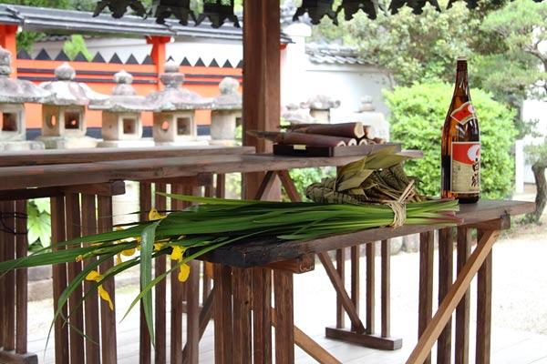 奈良豆比古神社 菖蒲祭1