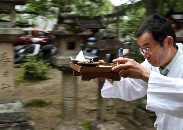 奈良豆比古神社 菖蒲祭3.