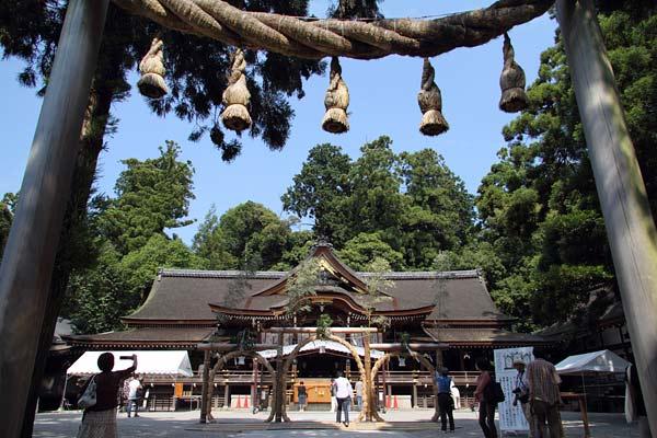 大神神社 茅の輪くぐり1