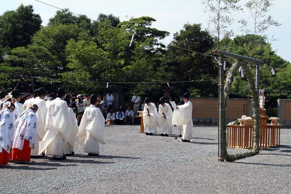 大神神社 茅の輪くぐり3
