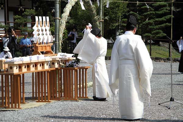 大神神社 茅の輪くぐり4