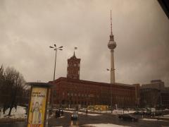 Rathaus Belin und TV tower