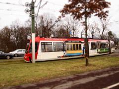 Tram bei Doku Zentrum