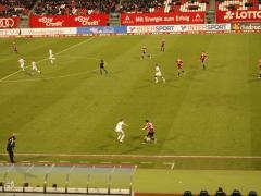 Fussballspiel 1 FCN
