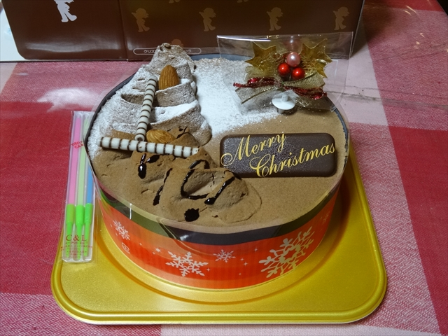 25日 ケーキ