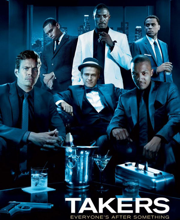 Takers movie image Idris Elba, Paul Walker, Matt Dillon, Chris Brown, Jay Hernandez, T.I. , and Hayden Christensen