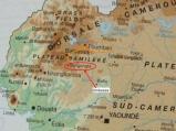 カメルーン地図