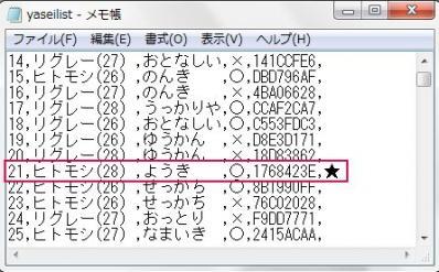 色違いyasei3