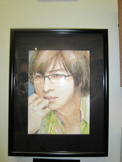 2005、ヨン様 水彩画