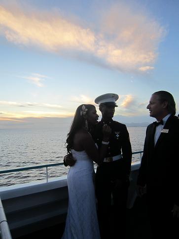 船上結婚式