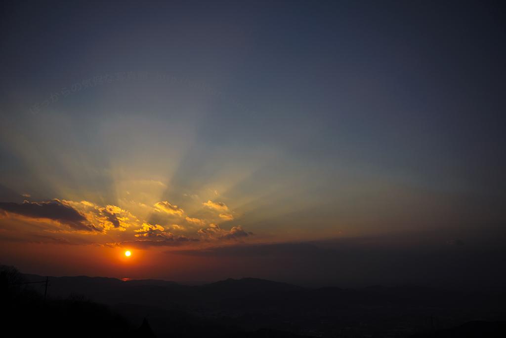 2013最後の夕陽2