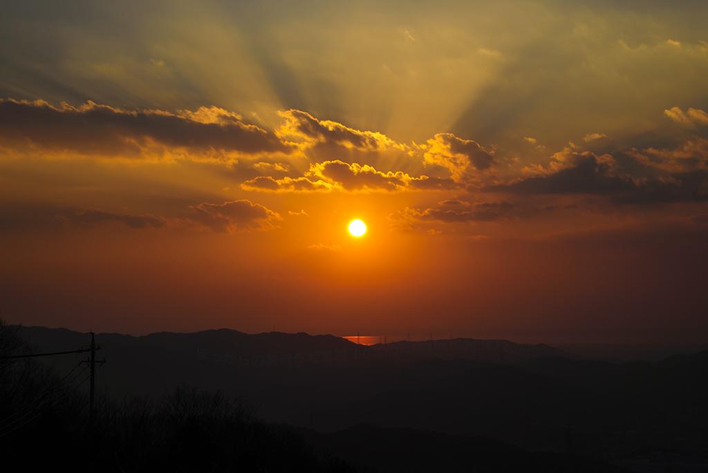 2013最後の夕陽