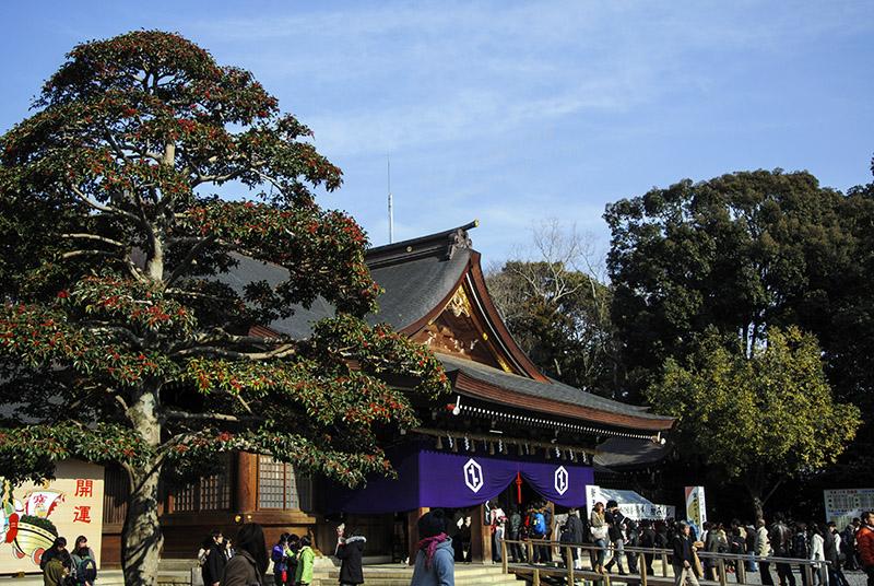 砥鹿神社:里宮(初詣)②