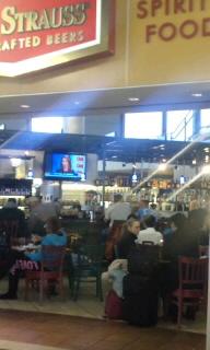 空港内のバー