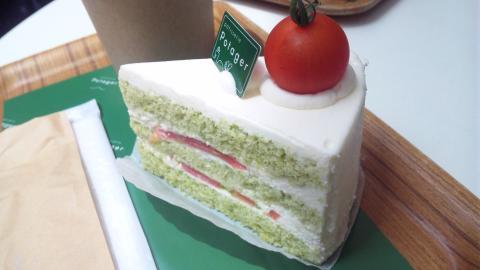 グリーントマトショートケーキ