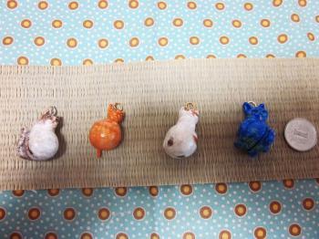 完成・猫土鈴たち