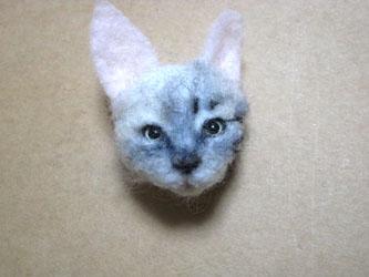 オーダー姉妹猫さん・お姉さん猫植毛1