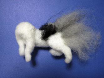 オーダー姉妹猫さん・お姉さん体の植毛開始