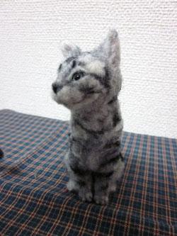 オーダー姉妹猫ちゃん・妹ちゃん植毛完2