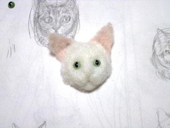 猫ブローチEくん3