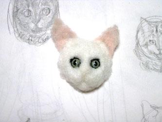 猫ブローチEくん4