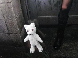 ホラー白熊