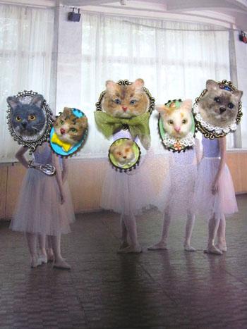 猫ブローチアンドゥトロワ!