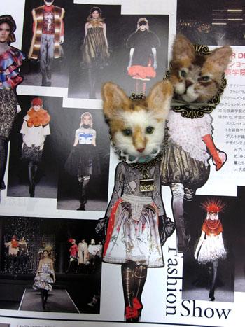 猫ブローチ ドルフェ新作