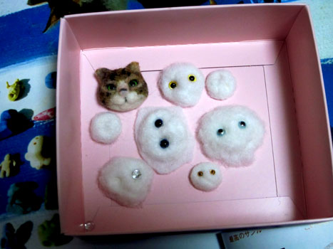 猫顔量産…できず