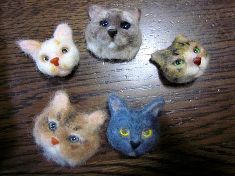 猫顔量産…できず2