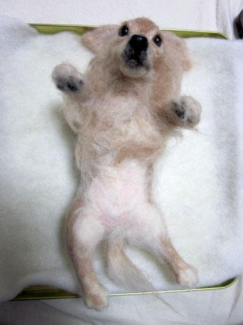 リングピロー犬・完成全身