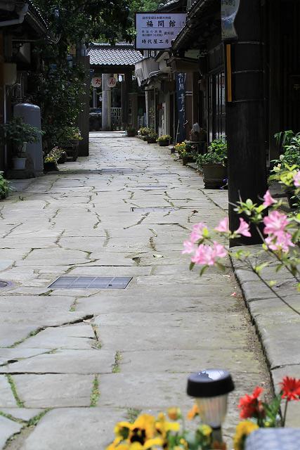 島根県美保関町 青石畳通り 美保神社 祭り
