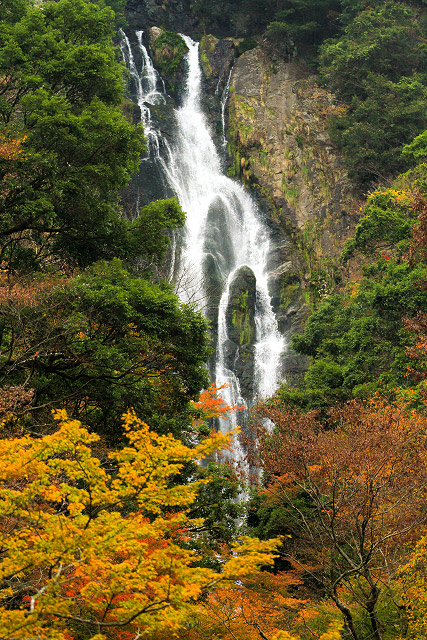 岡山県真庭市勝山「神庭の滝」