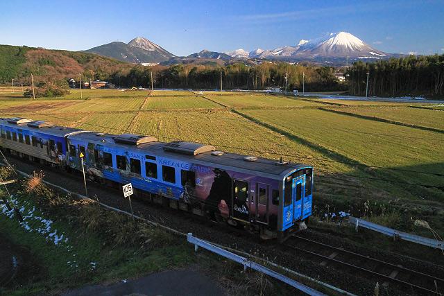 大山 山陰ジオパーク JR 鉄道