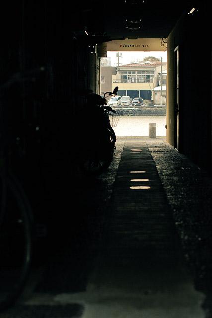 松江市 カラコロ広場 古い街並み