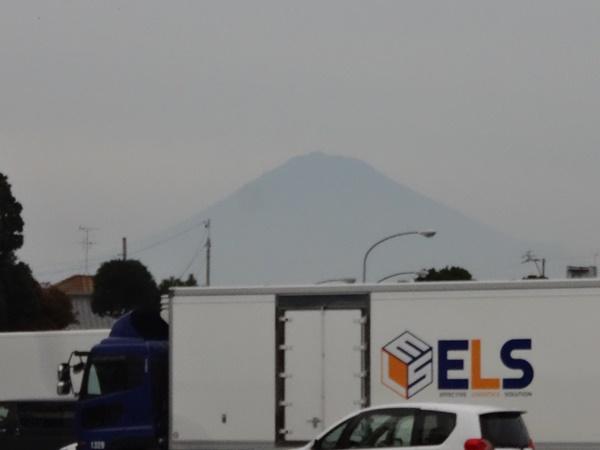 日本平PAから見えた富士山